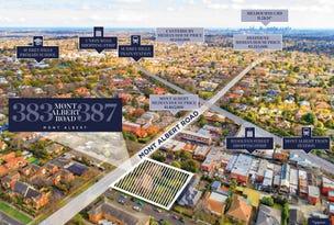 383-387 Mont Albert Road, Mont Albert, Vic 3127