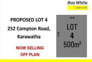 Lot 4, 352 Compton Road, Karawatha, Qld 4117