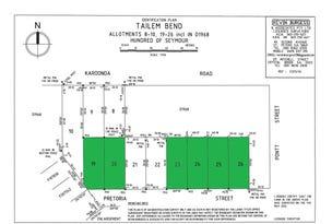 Lots 19-20, 23 - 26 Pretoria Street, Tailem Bend, SA 5260