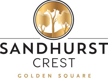 Sandhurst Crest Golden Square
