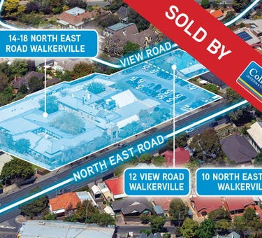 14-18 North East Road, 10 North East Road, 12 View Road, Walkerville, SA 5081