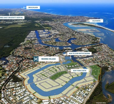 Marina Village, 1&2 The Basin, Pelican Waters, Qld 4551