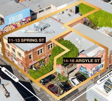 11-13 Spring Street & 14-16 Argyle Street, Fitzroy, Vic 3065