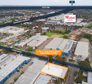 1, 2 & 3, 109 Lewis Road, Wantirna South, Vic 3152