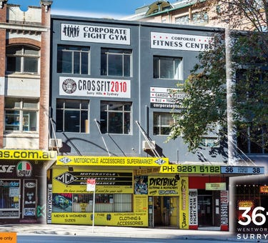 36-38 Wentworth Avenue, Surry Hills, NSW 2010
