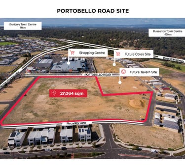 Lot 9041 Portobello Road and Tiffany Centre, Dalyellup, WA 6230
