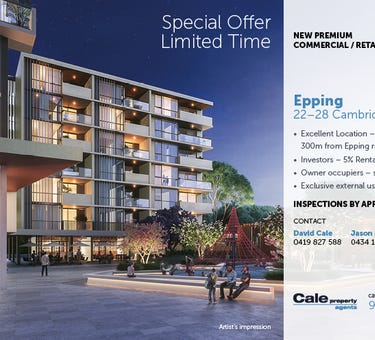 22-28 Cambridge Street, Epping, NSW 2121