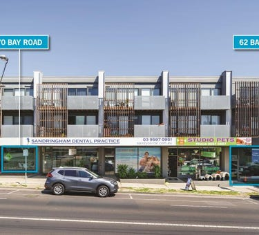 62 & 70 Bay Road, Sandringham, Vic 3191