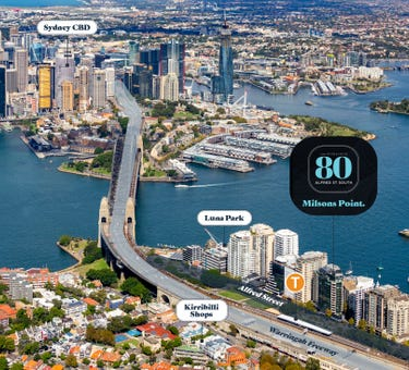 Lots 127-128 & 130-133, 80 Alfred Street, Milsons Point, NSW 2061