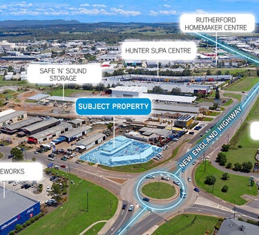 323 New England Highway, Rutherford, NSW 2320