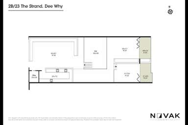 LEASED BY MICHAEL BURGIO 0430 344 700, 2B/23 The Strand Dee Why NSW 2099 - Floor Plan 1