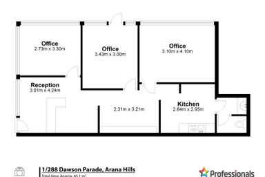1/288 Dawson Parade Arana Hills QLD 4054 - Floor Plan 1