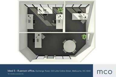 Exchange Tower, 530 Little Collins Street Melbourne VIC 3000 - Floor Plan 1