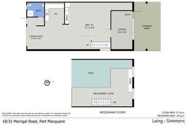 10/35 Merrigal Road Port Macquarie NSW 2444 - Floor Plan 1