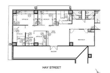 139/580 Hay Street Perth WA 6000 - Floor Plan 1