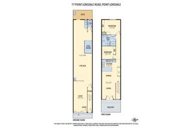 77 Point Lonsdale Road Point Lonsdale VIC 3225 - Floor Plan 1