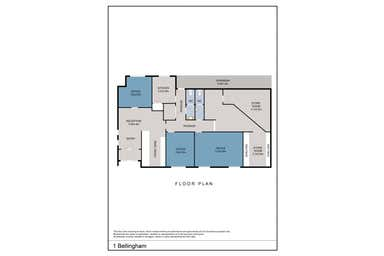 1 Bellingham Street Leongatha VIC 3953 - Floor Plan 1