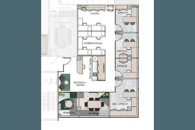 Level 8, 193 North Quay Brisbane City QLD 4000 - Floor Plan 1