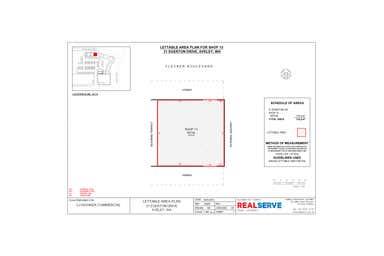 13/31 Egerton Drive Aveley WA 6069 - Floor Plan 1