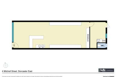 4 Mitchell Street Doncaster East VIC 3109 - Floor Plan 1