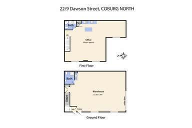 22/9 Dawson Street Coburg North VIC 3058 - Floor Plan 1