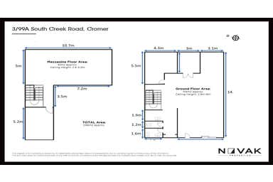 3/99A South Creek Road Cromer NSW 2099 - Floor Plan 1