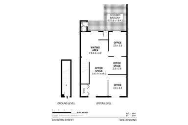 Level 1, 62 Crown Street Wollongong NSW 2500 - Floor Plan 1