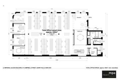 91 Campbell Street Surry Hills NSW 2010 - Floor Plan 1
