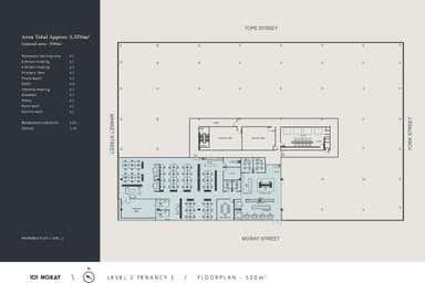 101 Moray, Level 2, 101 Moray Street South Melbourne VIC 3205 - Floor Plan 1