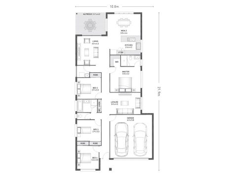 Segal 22 - floorplan