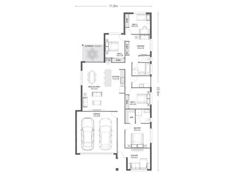 Telford 22 - floorplan