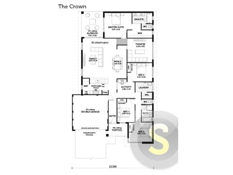 The Crown - floorplan