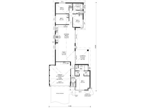 The Impero - floorplan