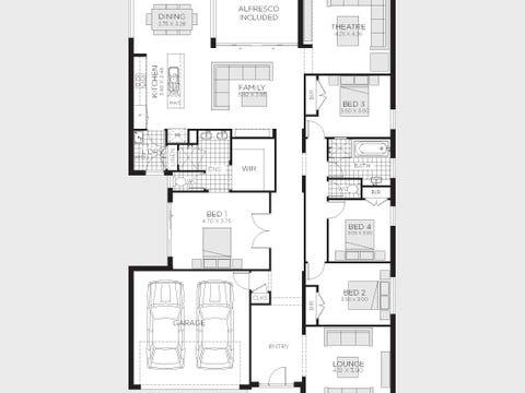 Serene 28 (Vogue Facade) - floorplan