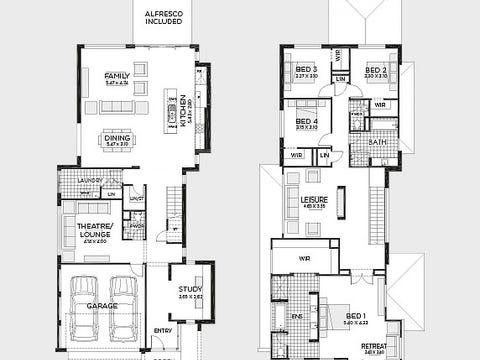 Edge 39MKI (Elite Facade) - floorplan