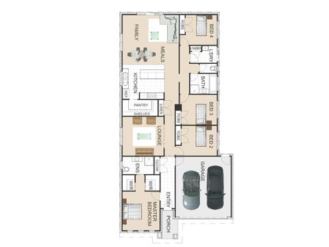 Iluka 175 - floorplan