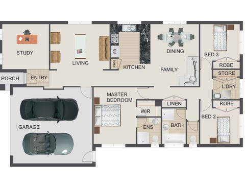 The Ambrosia - floorplan