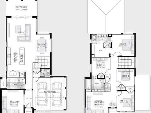Benham 30 (Trend Facade) - floorplan