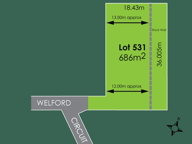 Lot 531, 16 Welford Circuit, Kellyville, NSW 2155