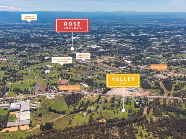 Camden Valley Way, Leppington, NSW 2179