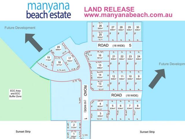 Lot 1 - 30, Manyana Beach Estate, Manyana, NSW 2539