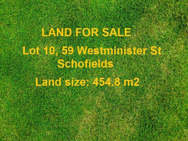 Lot 10, 59 Westminister Street, Schofields, NSW 2762