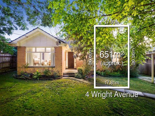 4 Wright Avenue, Donvale, Vic 3111