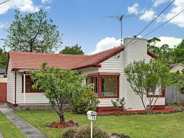 15 Miller Grove, Ringwood East, Vic 3135