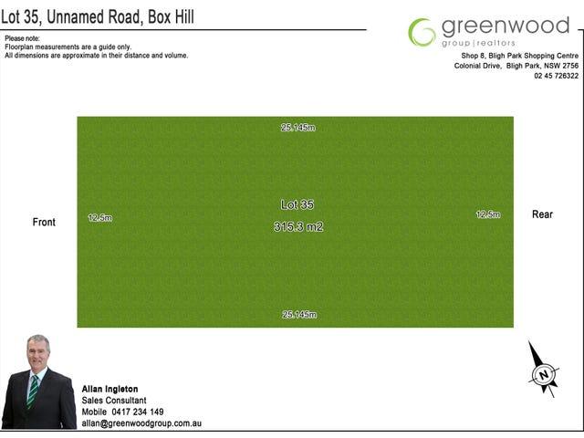 Lot 35 Dressage Street, Box Hill, NSW 2765