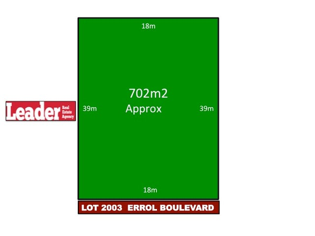 Lot 2003, Errol Boulevard, Mickleham, Vic 3064