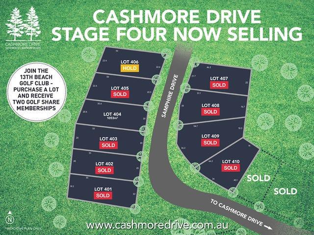 LOTS 401-410 Cashmore Drive, Barwon Heads, Vic 3227