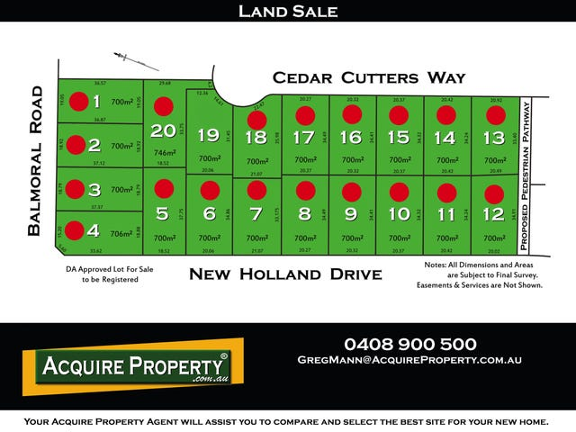Proposed Lot 19 Cedar Cutters Way, Kellyville, NSW 2155