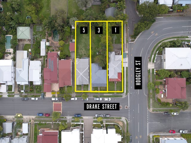 1, 3 & 5 Drake Street, West End, Qld 4101