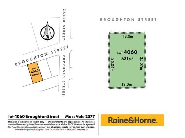 Lot 4060 Broughton Street, Moss Vale, NSW 2577